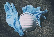 maska in rokavice